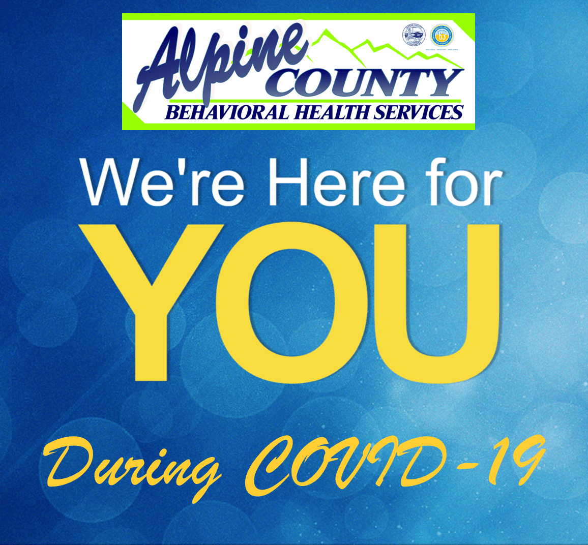 We're Here For You During COVID-19 Opens in new window