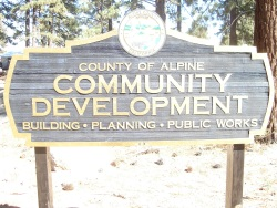 Community Development Sign